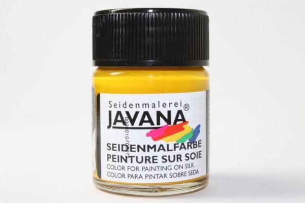 JAVANA Seidenmalfarbe, 50 ml, Sonnengelb