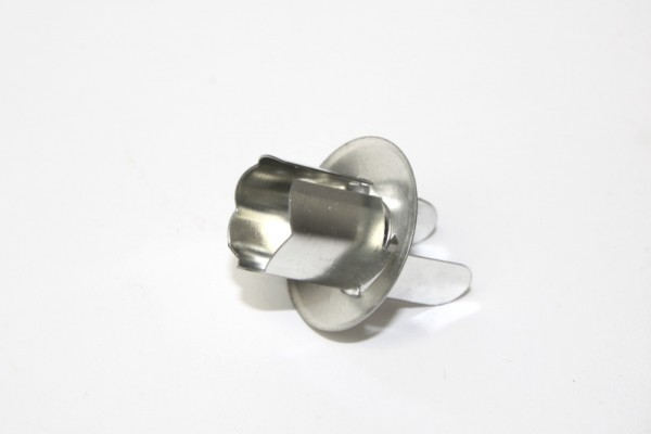 Kerzenhalter aus Metall, 25 Stück