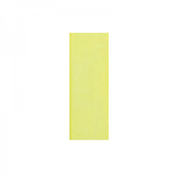 Chiffonband, 3mm breit, 10m lang - hellgelb