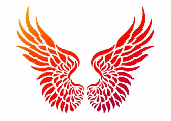Viva Decor Universal-Schablone, DIN A4, Flügel