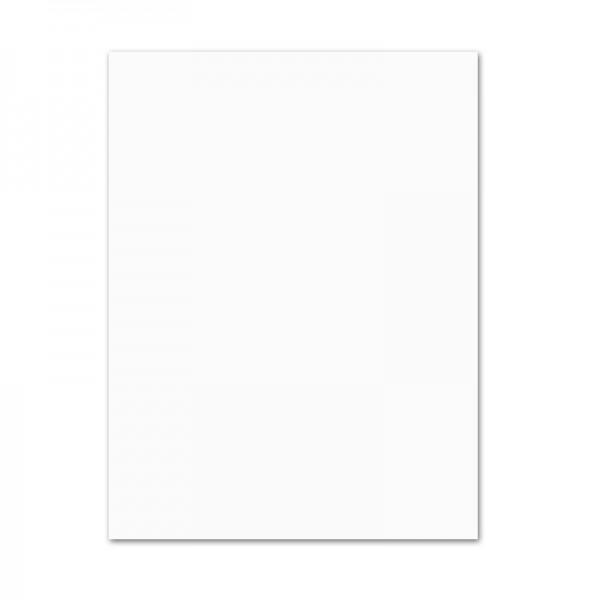 Tonpapier, 10er Pack, 130 g/m², 50x70 cm, weiß