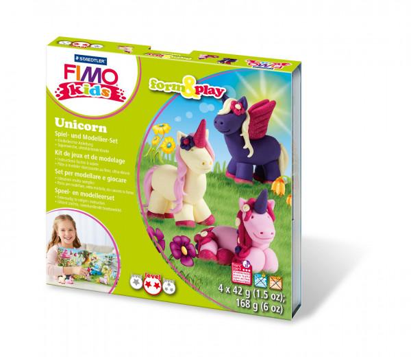 "FIMO kids form&play Set ""Unicorn"""