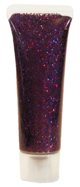 Eulenspiegel Glitzer-Gel, 18 ml, Lavendel-Juwel holographisch
