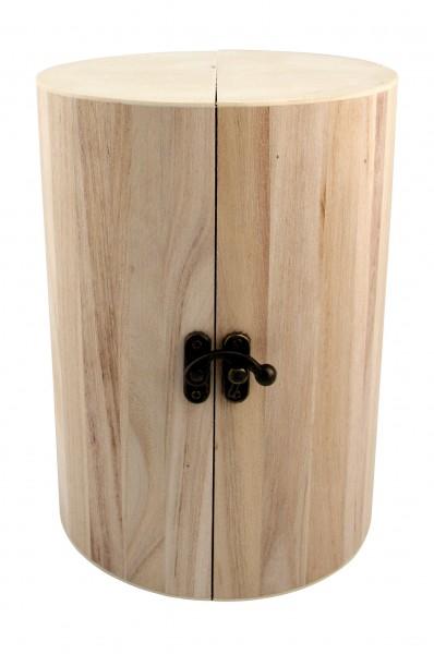 Holz-Schmucksäule Milano, aufklappbar