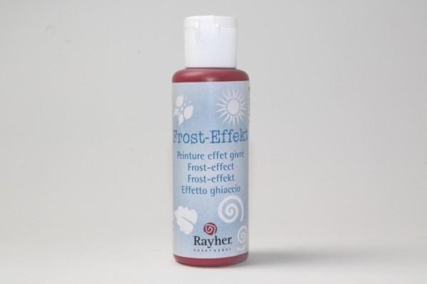 Frost-Effekt, 50 ml, kirschrot