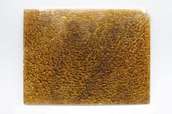 Crackle Mosaik-Platte, 15 x 20 cm, 4 mm, gold glänzend