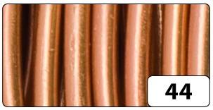 Aluminiumdraht, 2 mm Ø, 5 m, kupfer