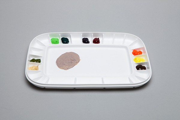 Peel off Kunststoffpalette, 33x23cm