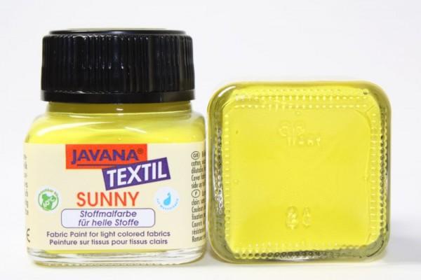 JAVANA TEXTIL SUNNY, für helle Stoffe, 20 ml, Citron