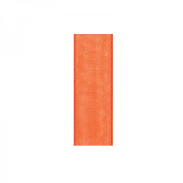 Chiffonband, 6mm breit, 10m lang - apricot