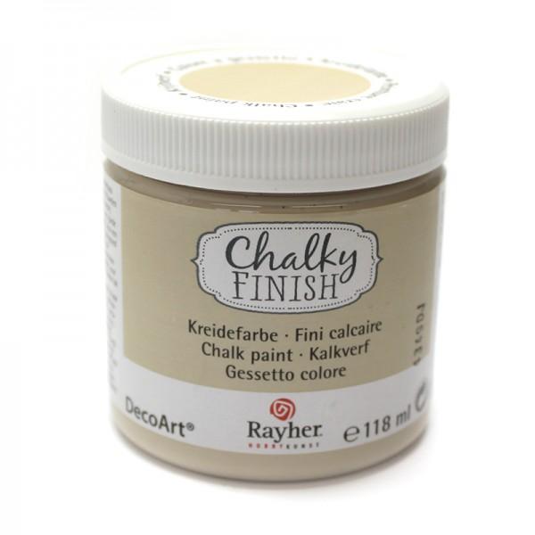 Chalky-Finish Kreidefarbe 118 ml - beige