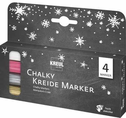 """Chalky Kreide Marker - 4er Set """"Winter"""""""
