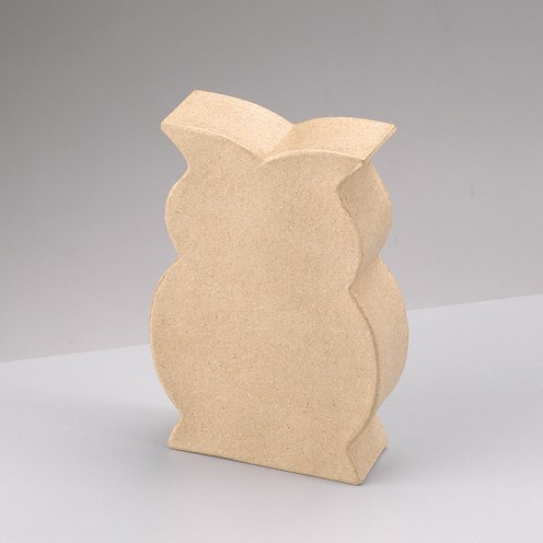 Eule Silhouette, stehend, 15,5 x 10,5 x 3,5 cm