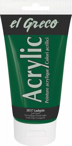 Acrylfarbe el Greco Acrylic, 150 ml - Laubgrün