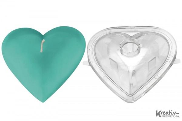 Kerzenform, 10 cm, Herz