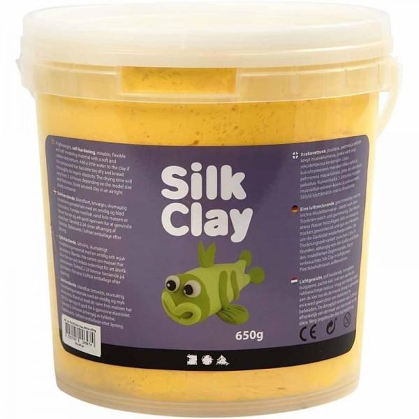 Silk Clay - Gelb, 650g