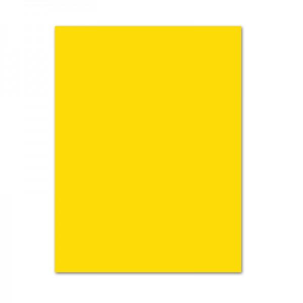 Bastelkarton, 10er Pack, 220 g/m², 50x70 cm, bananengelb