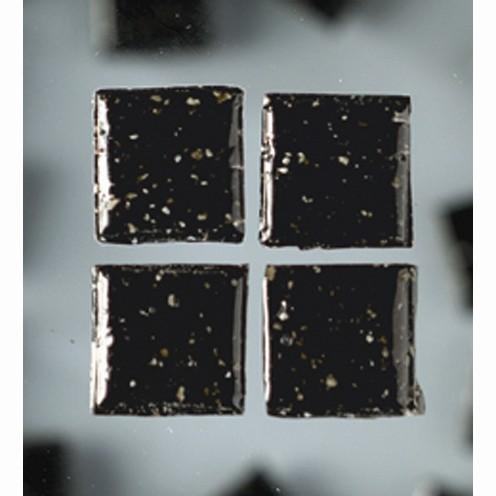 Efco Mosaik Glasstein pro, 20 x 20 mm, schwarz