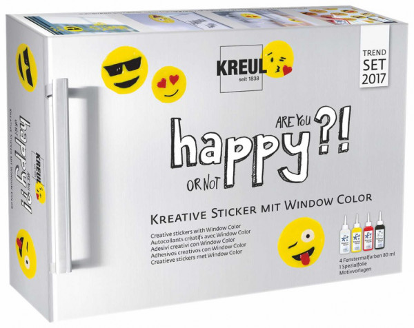 "Kreul Window Color Set ""Happy"""