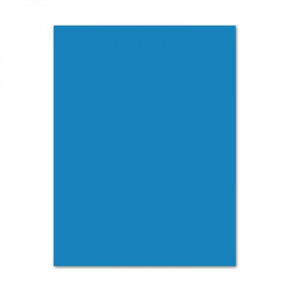Tonpapier, 10er Pack, 130 g/m², 50x70 cm, mittelblau