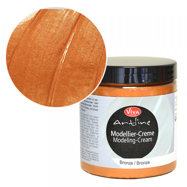Viva Decor Modellier-Creme, 250 ml, Bronze