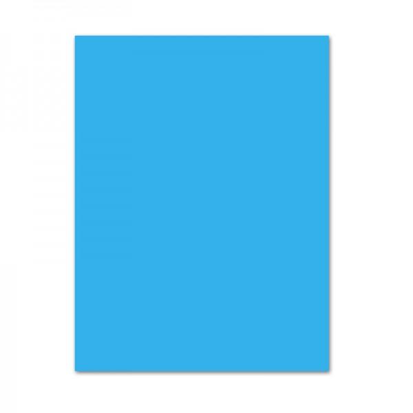 Bastelkarton, 10er Pack, 220 g/m², 50x70 cm, pazifik