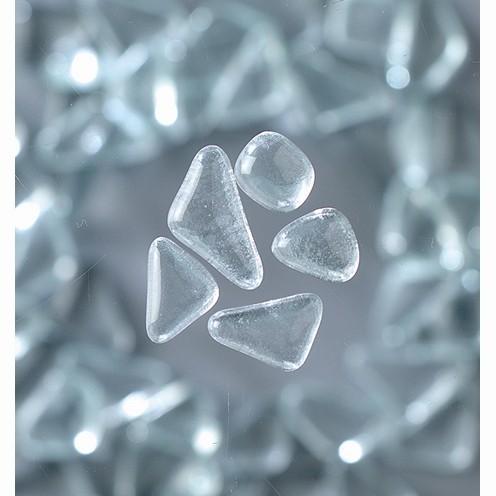 Mosaik Glasstein soft, 8-25 mm, klar