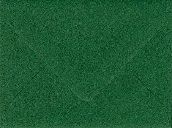 Kuverts, C8, 90 g, 54 x 74 mm, 25 Stück, piniengrün