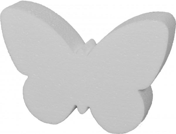 Styropor-Silhouette Schmetterling 14x20x4cm