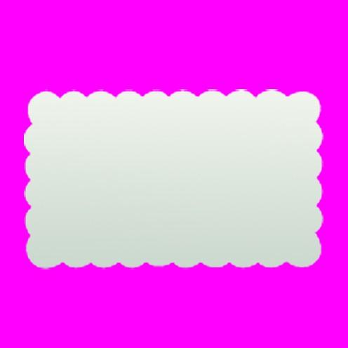 Stanzer Rechteck gezahnt, ca. 4,5 x 2,7 cm
