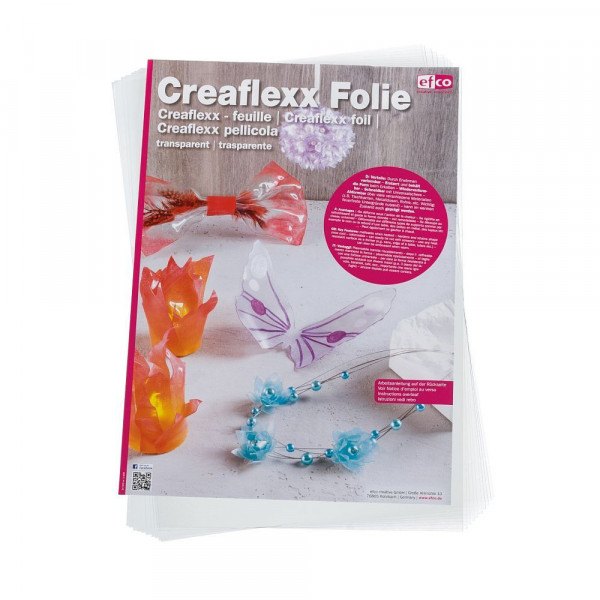 Creaflexx Folie,44,5 x 30 cm / 0,5 mm,transparent