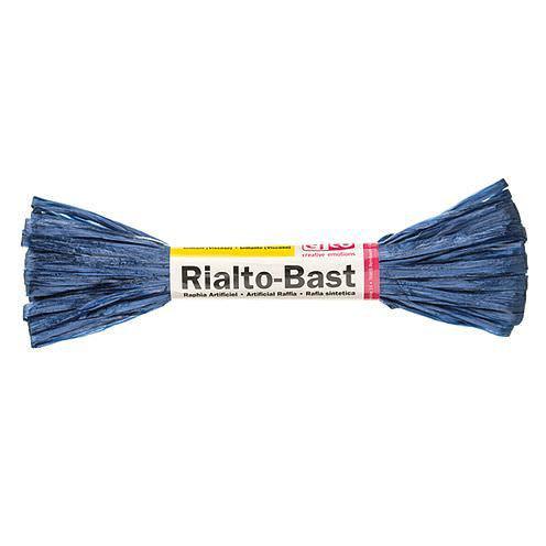 Edelbast Viscose, 10g, glänzend königsblau