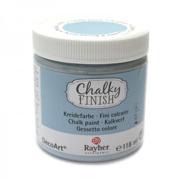 Chalky-Finish Kreidefarbe 118 ml - blaugrau