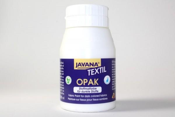 JAVANA TEXTIL Opak, für dunkle Stoffe, 500 ml, Weiß