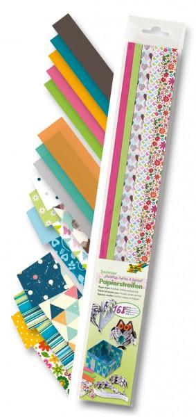 Quilling Papierstreifen Sommer 1 2 Cm X 50 Cm 168 Stück Kreativ
