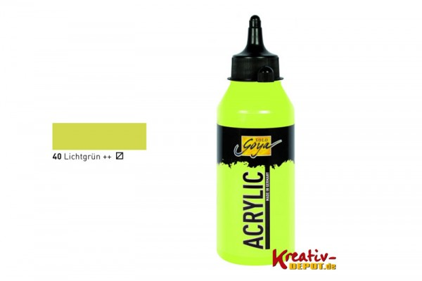 Solo Goya Acrylic, 250 ml, Lichtgrün