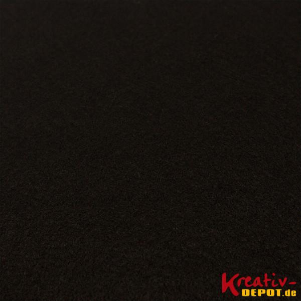 Bastelfilz, 1mm, 20x30cm, schwarz