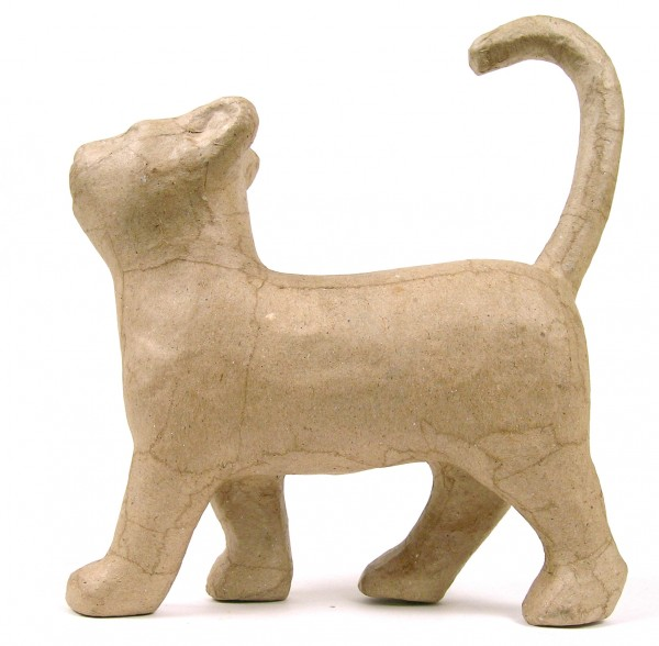 decopatch Tierfigur Laufende Katze, 19x6x21cm