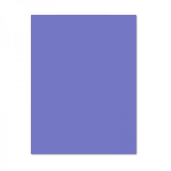 Tonpapier, 10er Pack, 130 g/m², 50x70 cm, veilchenblau