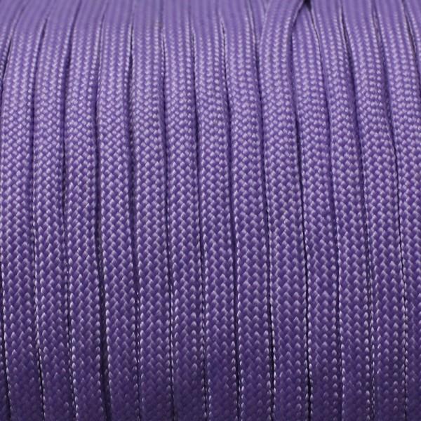 Paracord Knüpfgarn oval - Violett, 10 mtr.