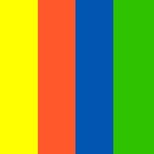 Color-Dekor Dekofolie, 10x20cm,4 Stück sortiert, Sortiment 1