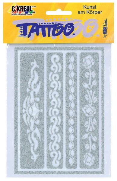 Hobby Line Tattoo-Schablone Bänder 1