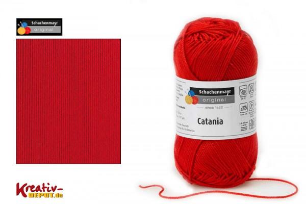 Schachenmayr Wolle - Catania, 50g, signalrot