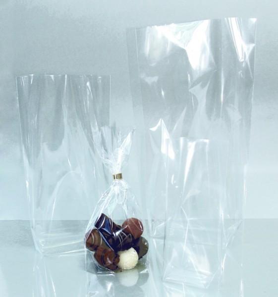 Bodenbeutel aus Cellophan, 10 Beutel, 95 x 160 mm
