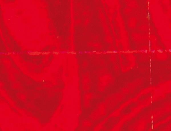 Verzierwachsplatte Rainbow, 200x100x0,5mm, hellrot