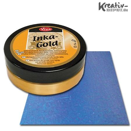 Viva Decor Inka-Gold, 62,5 g, Stahlblau