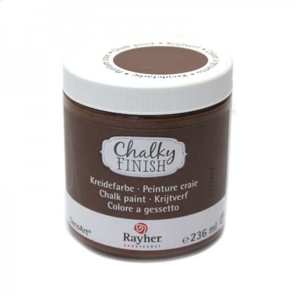 Chalky-Finish Kreidefarbe 236 ml - rehbraun
