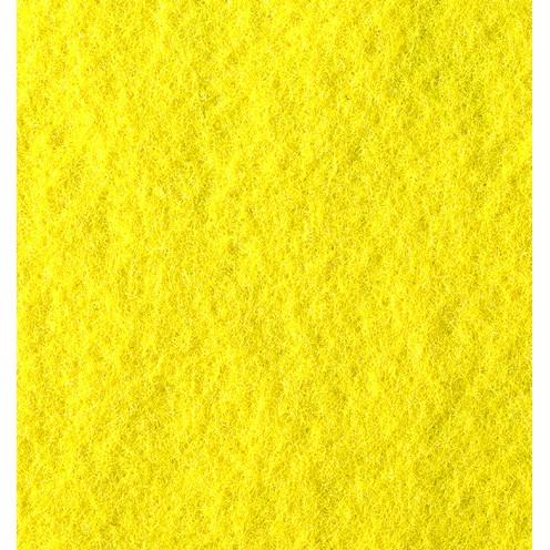Bastelfilz, 4mm, 70x45cm, gelb