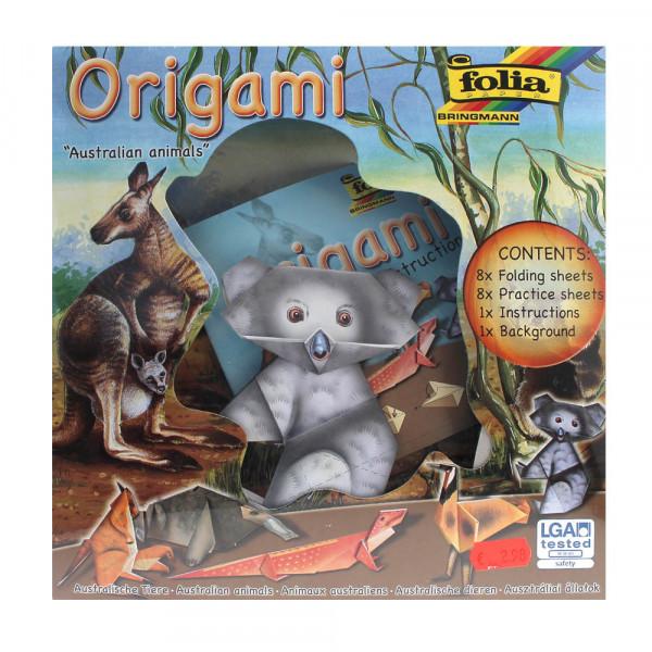 Origami-Set Tierwelt Australische Tiere