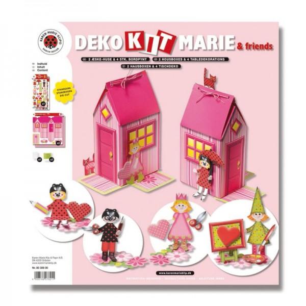 Bastelset Maries Haus-Box, 2 Stück